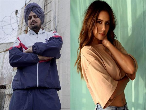 is sonam bajwa collaborating with sidhu moosewala