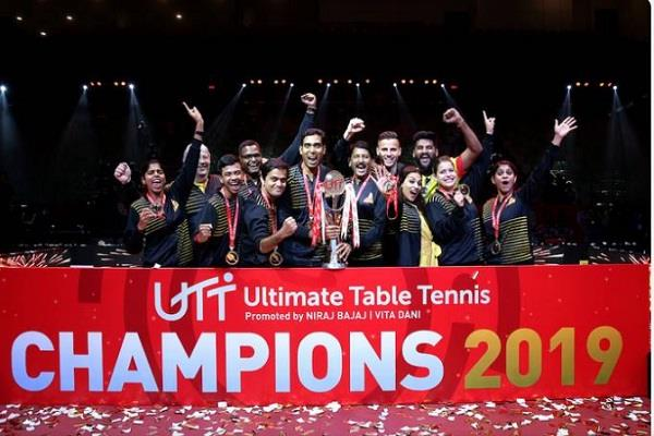 ultimate table tennis  chennai lions  title