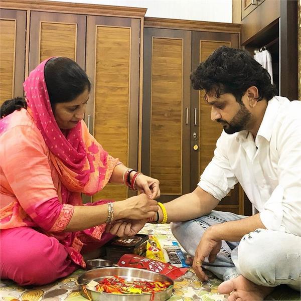 punjabi stars celebrates raksha bandhan with sister