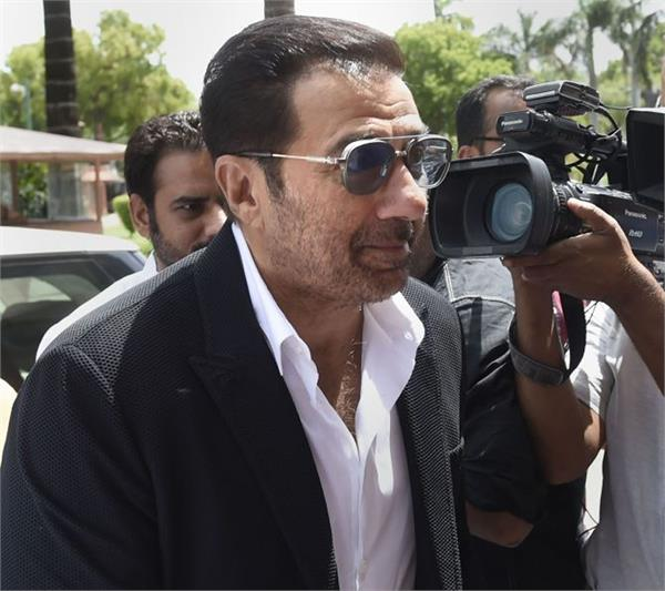 sunny deol  parliament  monsoon session