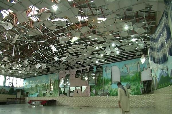 afghanistan blast in wedding ceremony