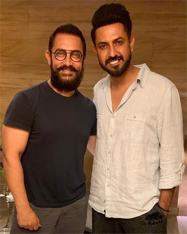 gippy grewal and aamir khan
