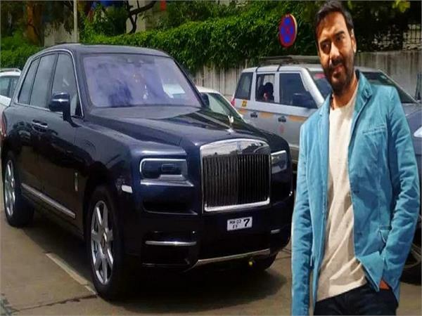 ajay devgn now owns a rolls royce cullinan luxury suv