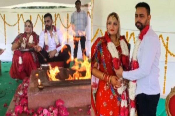 gangster vikramjit singh marries air hostess