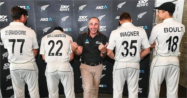 blackcaps announce test jersey numbers for sri lanka series