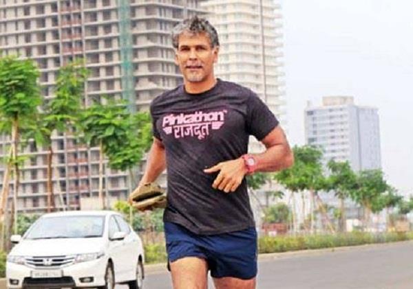milind somon  millennium city marathon