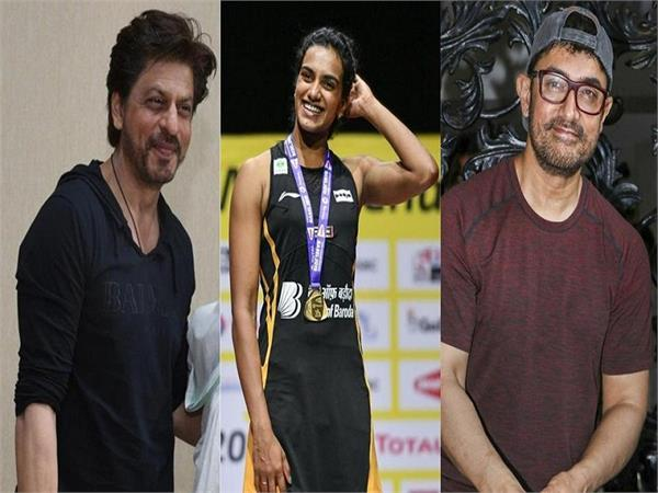 bollywood stars congratulate pv sindhu