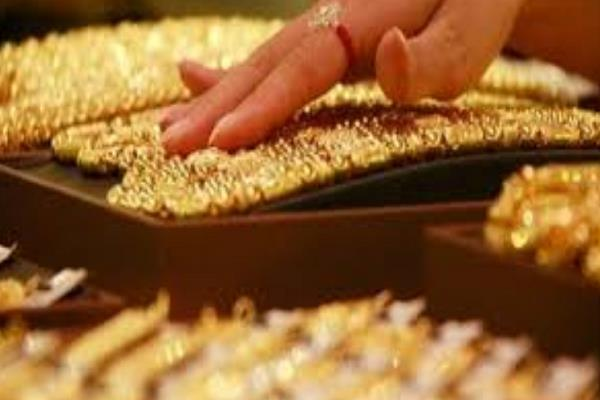 gold imports during the april july