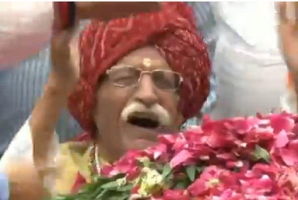 mdh owner mahashay dharampal gulati emotional