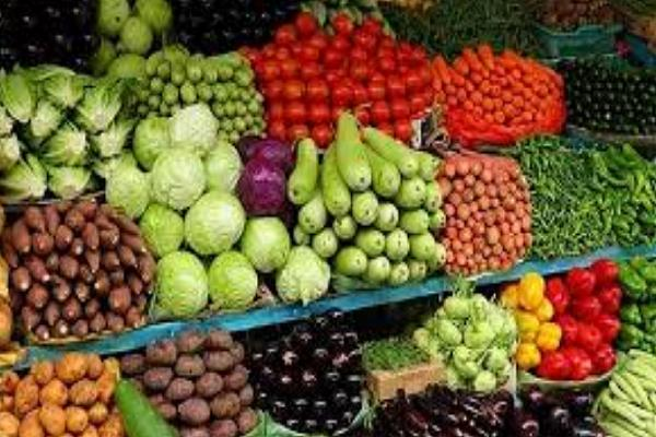 vegetables were sold at expensive prices