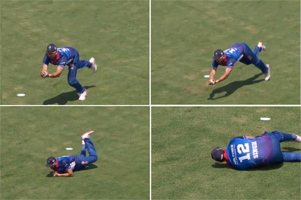 yuvraj singh best fielding catch in global canada t20 league