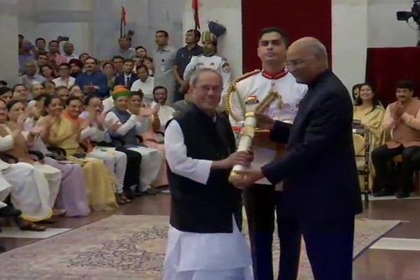 former president pranab mukherjee awarded bharat ratna