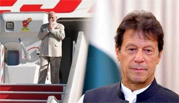 imran threatens nuclear war  modi passes out of pakistani airspace