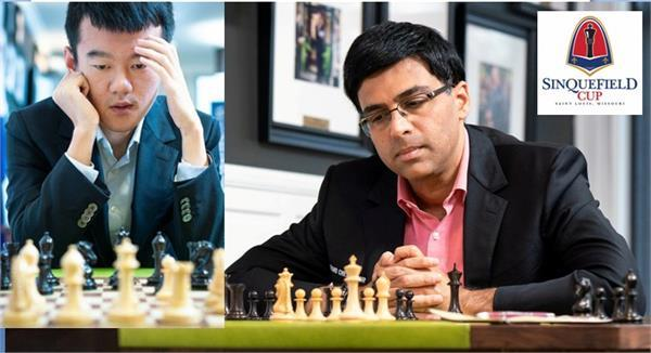 the sinkfield cup chess anand in second place on the joint