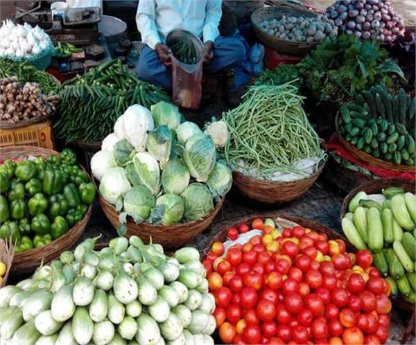 vegetables out of reach of the common man due to rain
