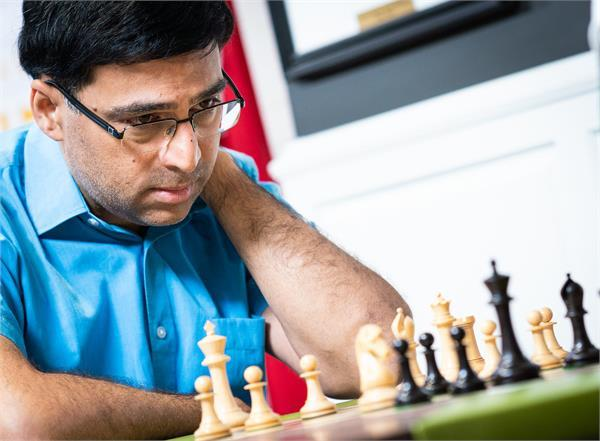 anand plays wesley so in sinkfield cup chess