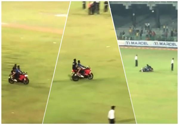 sri lankan player dies while celebrating  video
