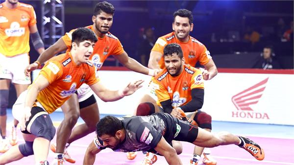 the tie between yu mumba and the puneri paltan was a tie