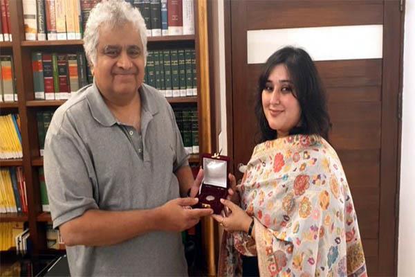 sushma swaraj s daughter fulfils her mother s last promise