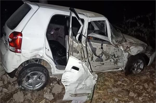 minor girl death due to road accident