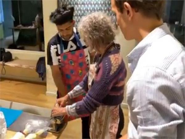guru randhawa learns to make pasta