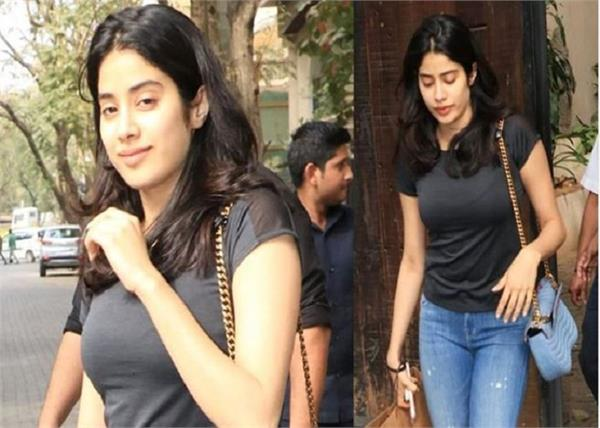 jhanvi kapoor viral video