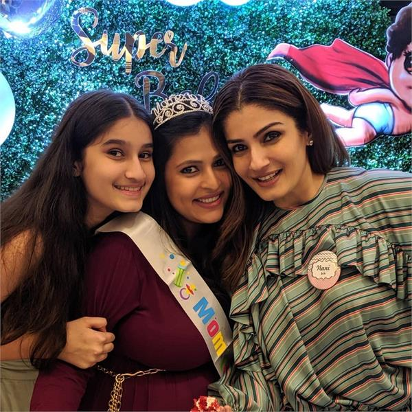 raveena tandon to be a grandmother soon