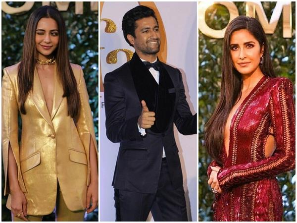 katrina kaif radhika apte richa chadha rock the iifa green carpet