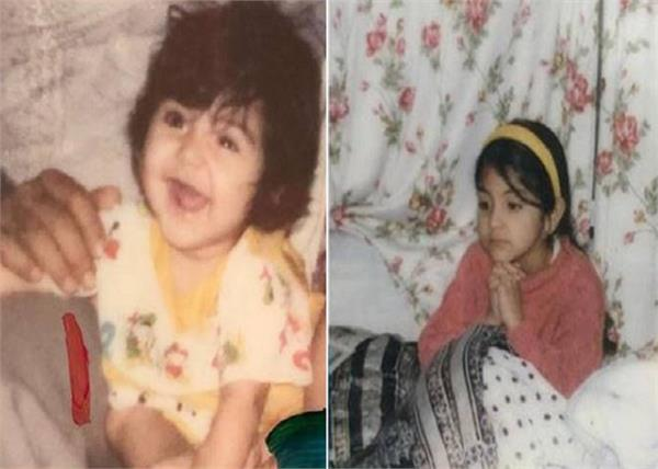 bollywood actress anushka sharma childhood pictures