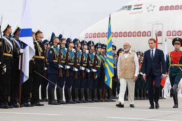 russia  pm narendra modi
