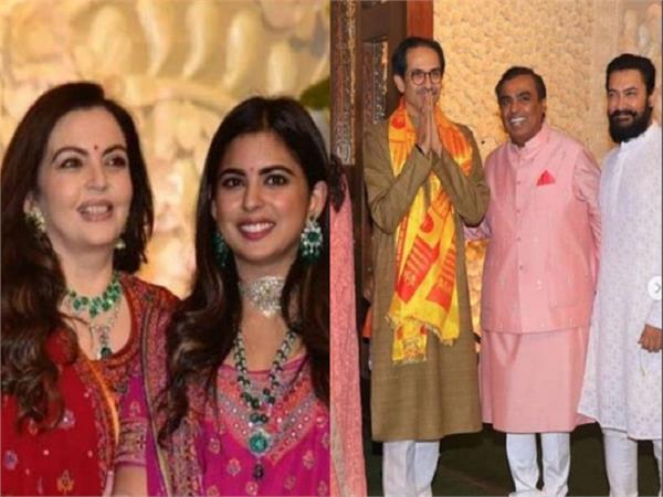 ambani family celebrates ganesh chaturthi at antilia