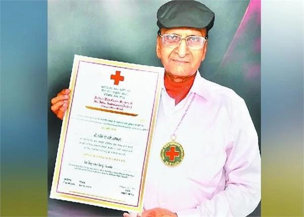 army blood donation rajendra garg family