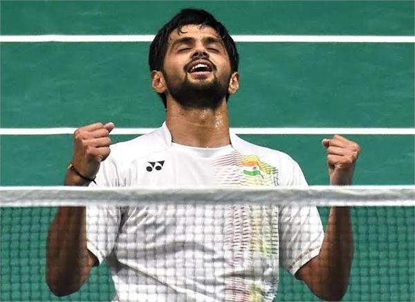 sai praneeth beats suppanyu in first round of china open