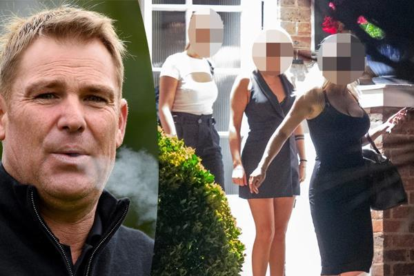 the australian cricketer shane warne has romp with lover and two sex workers
