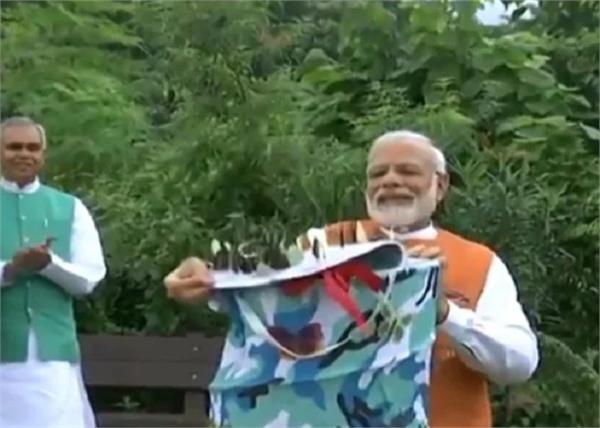 prime minister narendra modi cactus garden butterflies