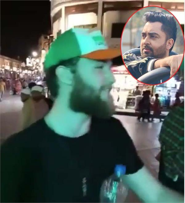 watch viral video foreigner man sing sharry mann   munda bhal di   song