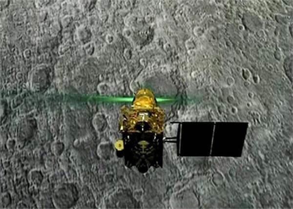 vikram lander isro tweet chandrayaan 2