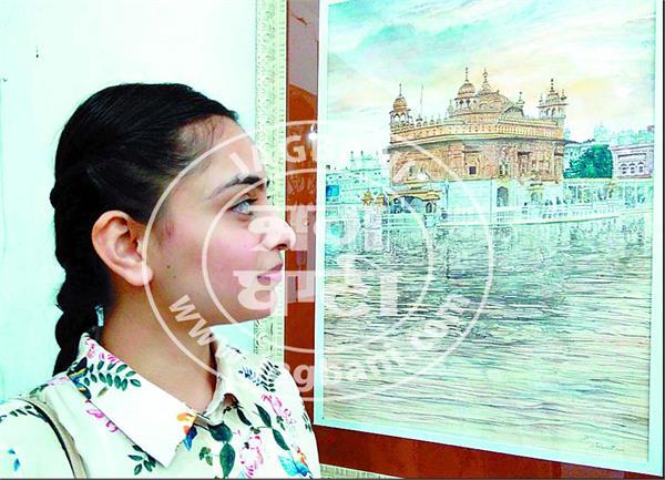 amritsar sri harmandir sahib painter loveleen