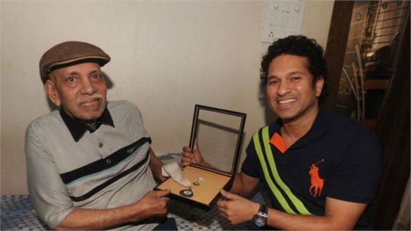 sachin remembers guru achrekar on the teacher  s day