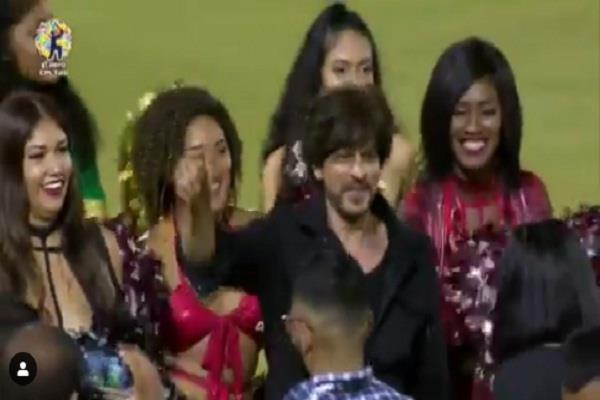 shah rukh khan  caribbean premier league 2019