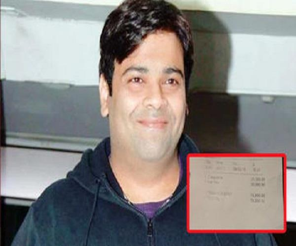 kiku sharda charged 78 650 for a cup of coffee and tea but he  s not complaining
