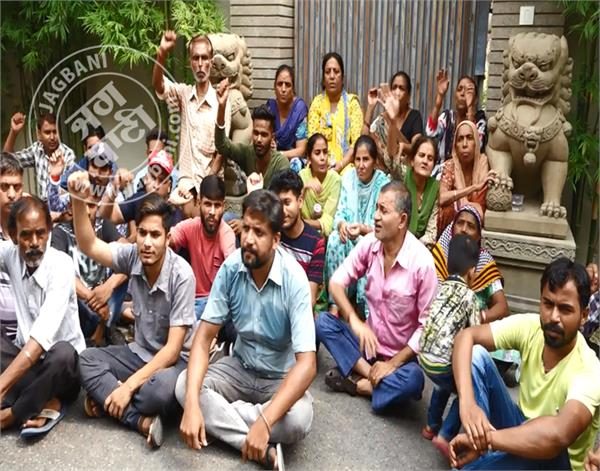 amritsar railway accident victims navjot singh sidhu kothi protes