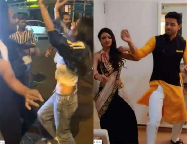 nia sharma breaks into a mad dance on the streets to welcome bappa