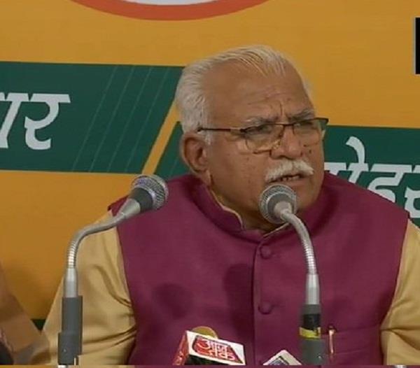 cm khattar nrc will implemented haryana