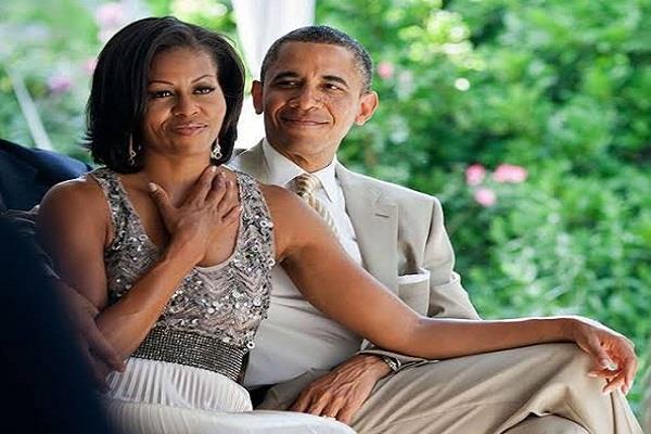 united states  barack obama and michelle