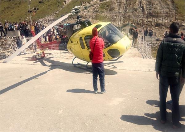 helicopter crash in kedarnath