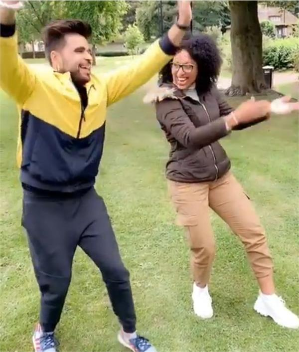 ninja teaches bhangra caribbean actress tia costell