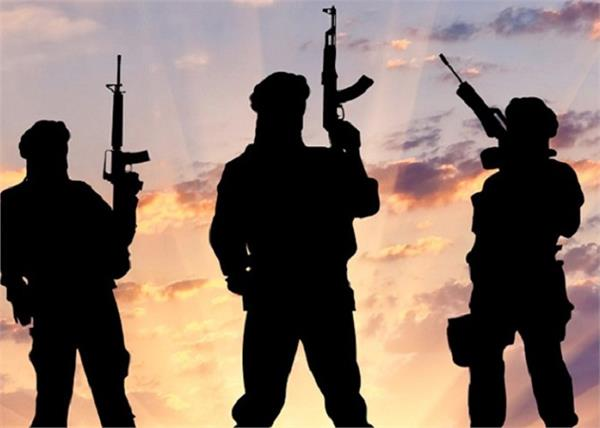 terrorists fired and injured four persons