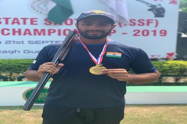 sangrur  karam lehal  punjab state championship rifle shooting  gold medal