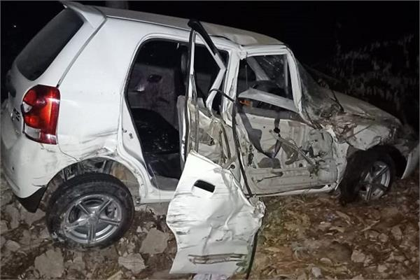 road accident  minor girl death